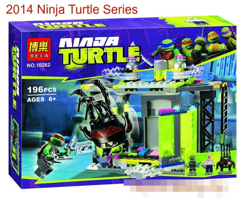 BELA NinjaTurtle10262 Mutation Chamber Unleashed LEGO Compatible Brick