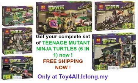 BELA Teenage Mutant Ninja Turtle Comp (end 4/6/2019 1:03 PM)