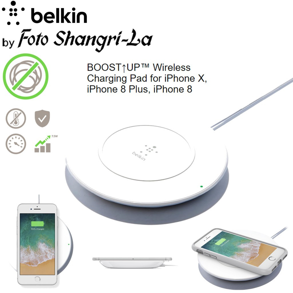 online store 3a287 a4509 Belkin BOOST UP Wireless Charging Pad Apple iPhone X XS XS Max XR iPhone 8  / 8