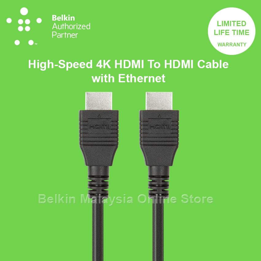 Belkin F3y020qe2m High Speed Hdmi T End 10 3 2021 12 00 Am