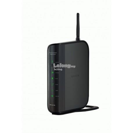 BELKIN F6D4630ak4a N-150 Wireless ADSL Modem Router 4 Port Streamyx