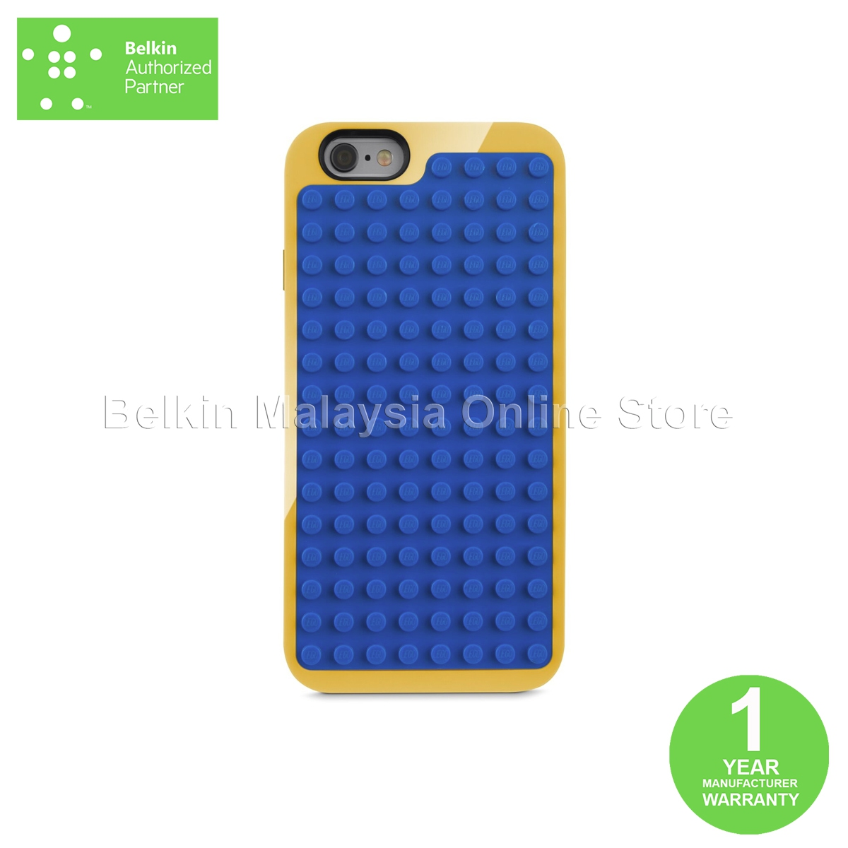 best service 7424c 1a9b6 Belkin F8W649btC00 LEGO ® Builder Case for iPhone 6 Plus and iPhone 6s Pl