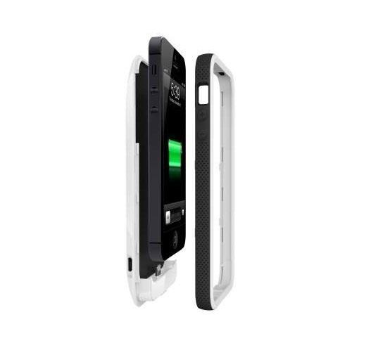 sneakers for cheap 34927 e9bf2 BELKIN ® Grip Power Battery Case for iPhone 5 and 5s - F8W292QEC01