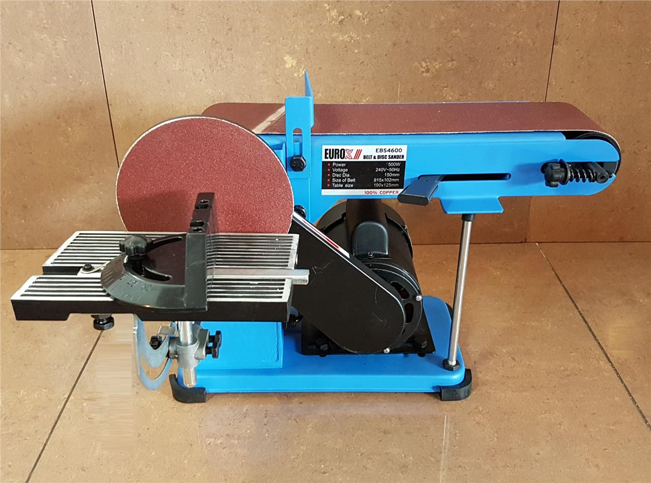 Belt & Disc Sander 915x102mm ID889818
