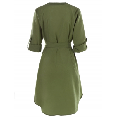 Belted Knee Length Casual Dress (ARM (end 4 3 2021 12 00 AM) d29b13feb
