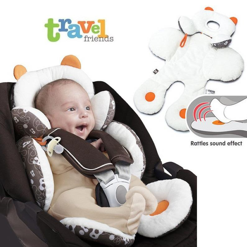 Benbat Baby Head And Body Support Pillow For Car Seat Stroller
