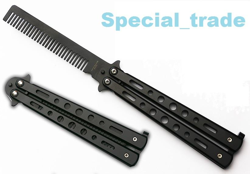 Bench Made Balisong Comb Butterfly Tr (end 5/6/2016 1:15 AM)