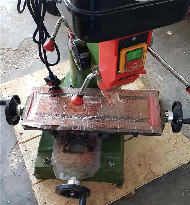 bench drill press drilling and milling machine