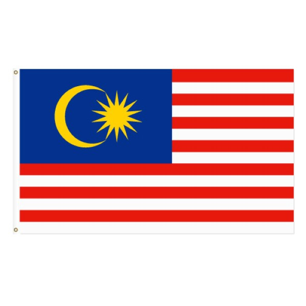 bendera malaysia flag 3 x 6 90cm