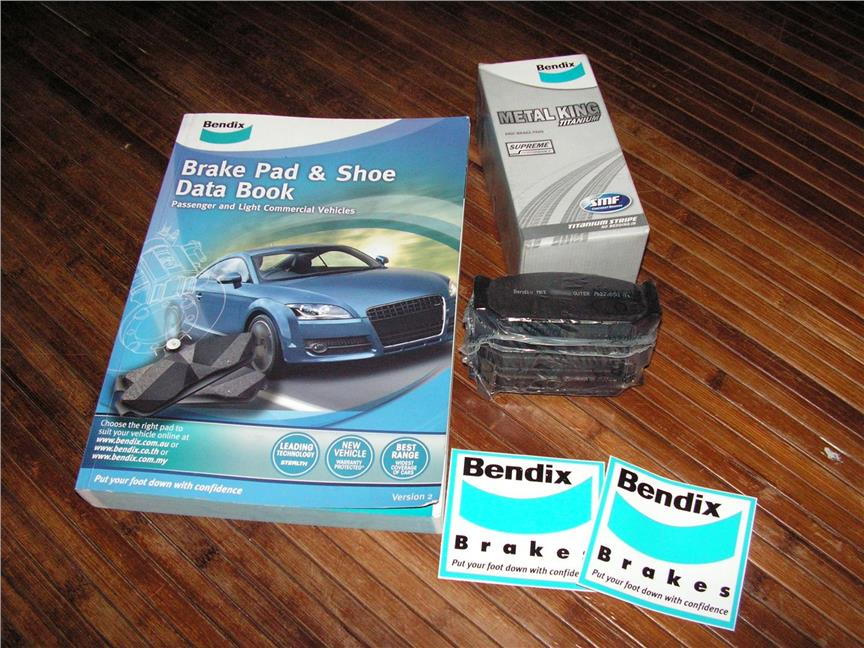 BENDIX METAL KING TITANIUM For SUZUKI SWIFT