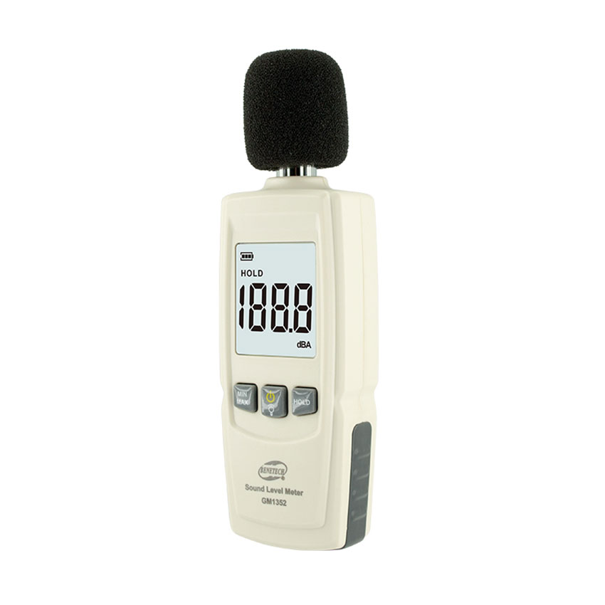 Benetech GM1352 30-130dB Digital Sound Level Meter Noise Tester