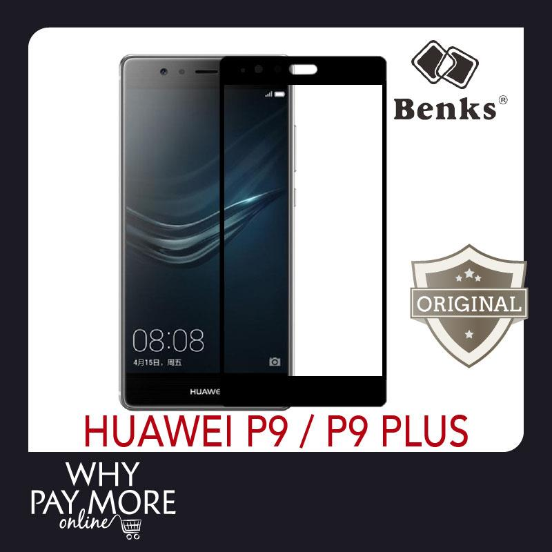 Benks Huawei P9 Plus Tempered Glass Full Screen 2 5D Curved
