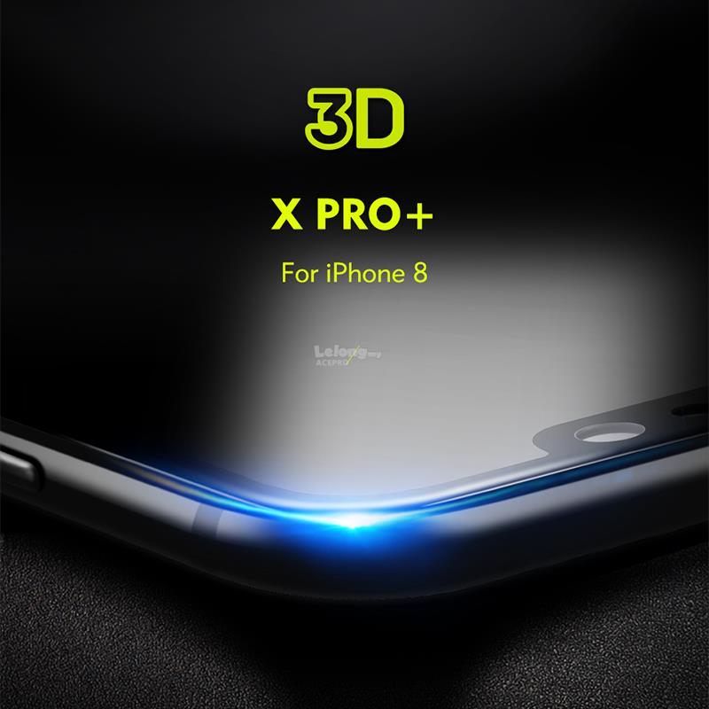 the best attitude 3277c 530c0 Benks XPRO+ 3D Full Curved Tempered Glass Apple iPhone X 7 8 PLUS