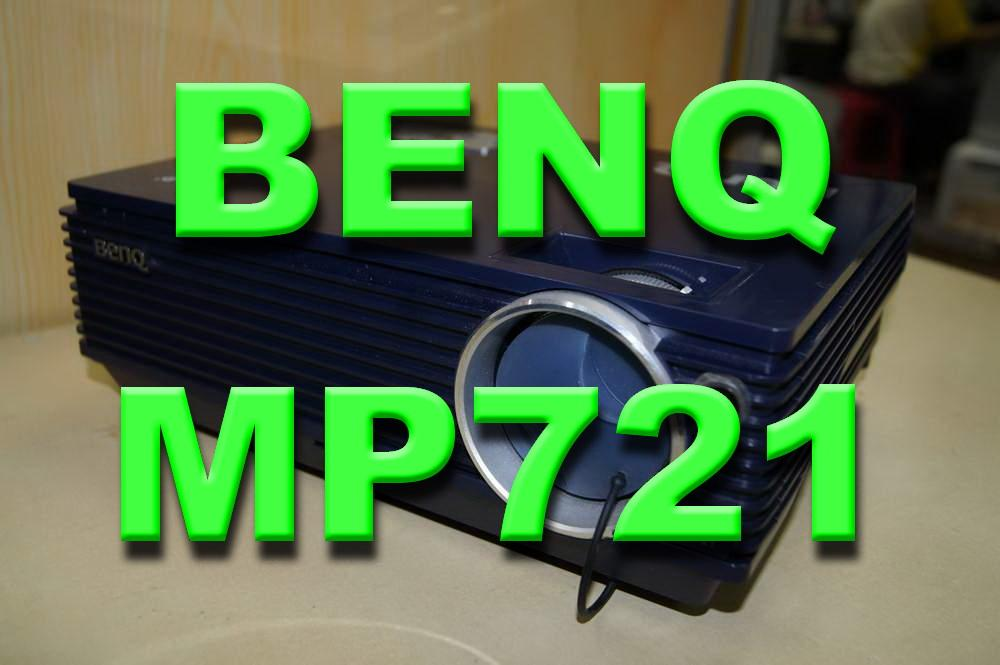 BENQ MP-721 DLP PROJECTOR (2500 ansi , XGA)