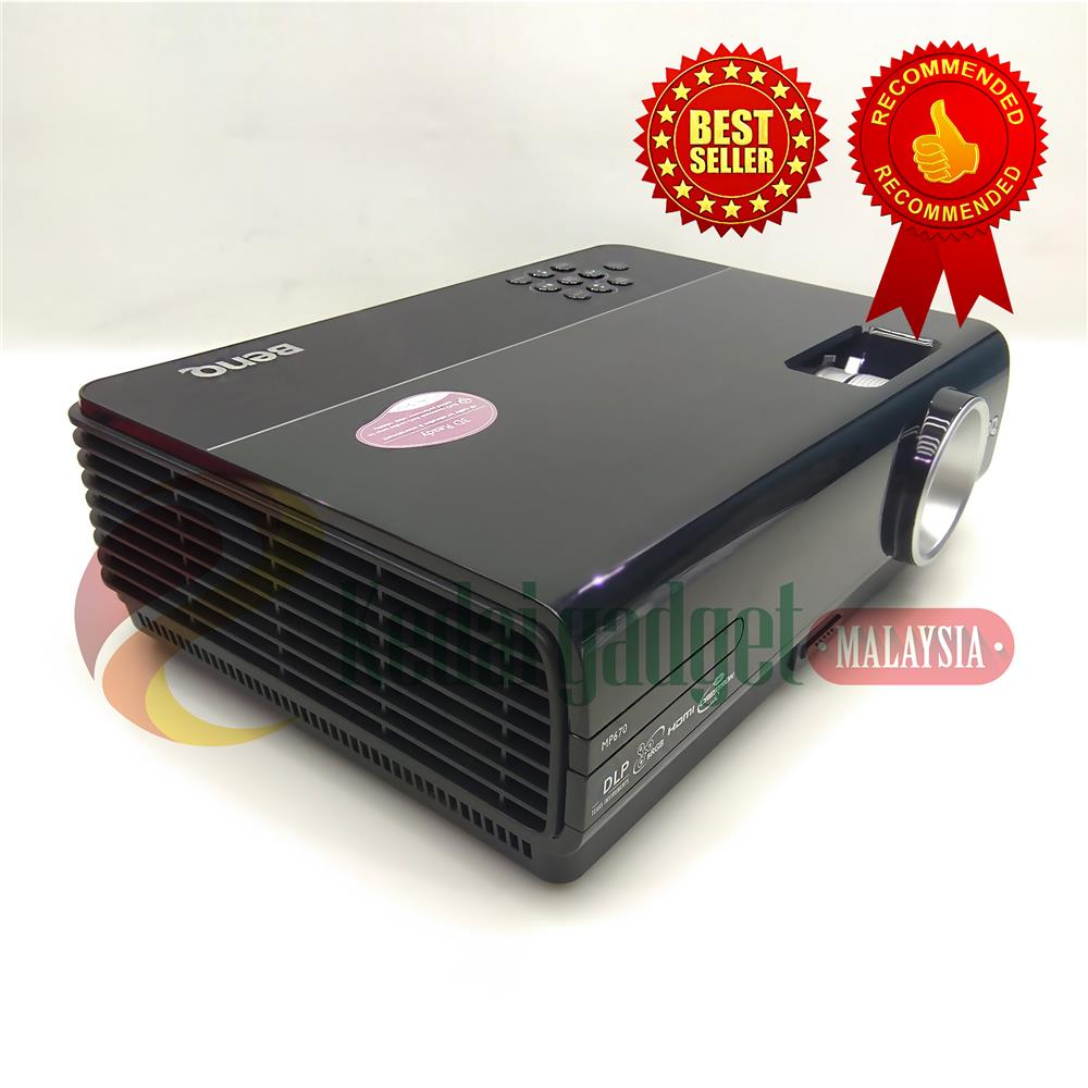 BenQ MP670 DLP projector
