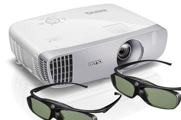 BenQ W1110 Full HD 3D Wireless Home Projector