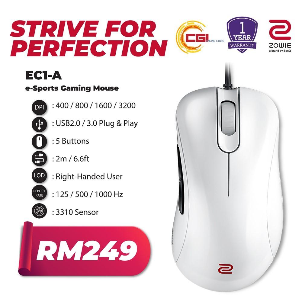 0270e7f3725 BenQ Zowie EC1-A e-Sports Gaming M (end 11/24/2021 12:00 AM)