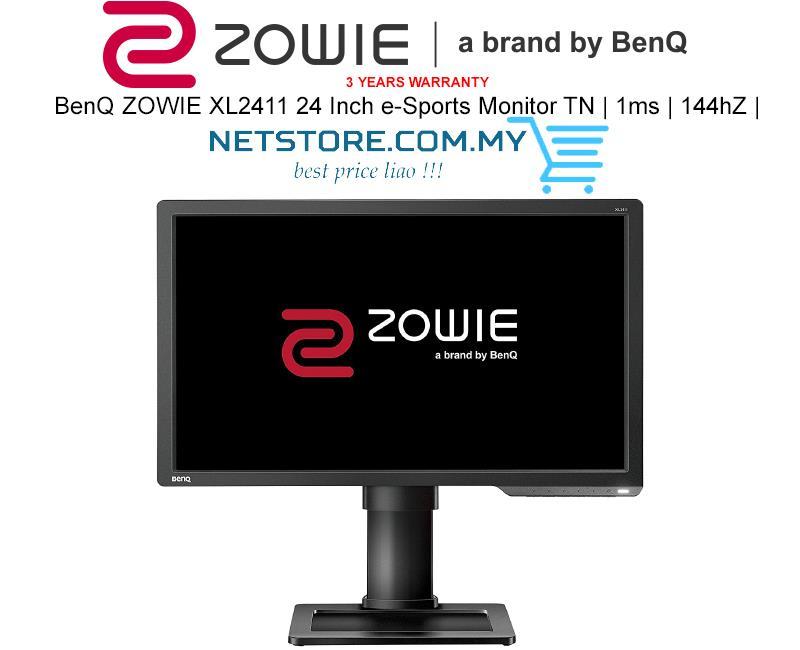 BenQ ZOWIE XL2411 24 Inch e-Sports Monitor TN | 1ms | 144hZ |