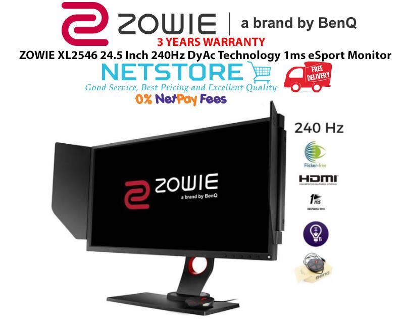 BenQ ZOWIE XL2546 24 5 Inch 240Hz DyAc Technology 1ms eSport Monitor