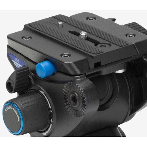 Benro C3573TS6 Carbon Fiber 3 Section Video Tripod Kit