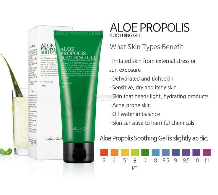 Image result for benton aloe propolis soothing gel