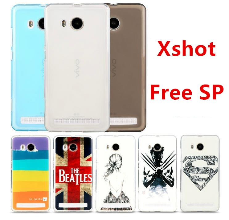 Bepak Vivo Xshot X Shot Silicone Back Case Cover Casing + Free SP