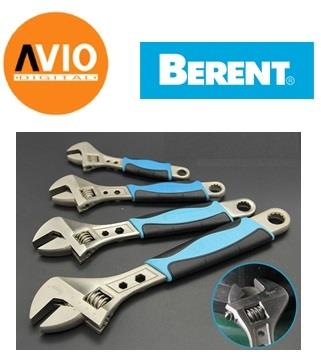 Berent BT2511 Rubber Handle Wrench Spanner 250mm max 30mm HRC45