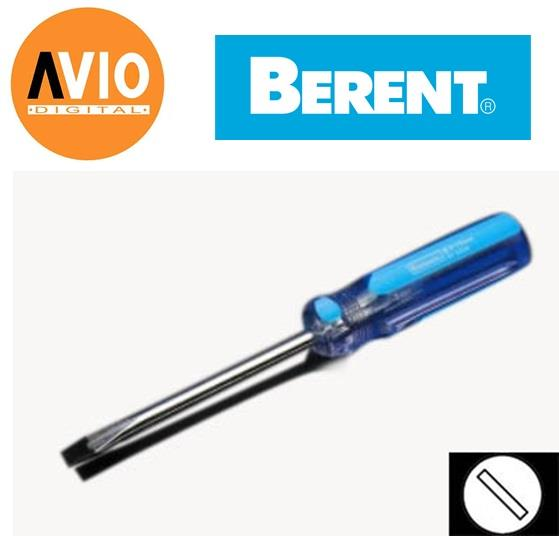 Berent BT5036 3 x 150 mm HRC 48 - Minus Magnet Screw Driver