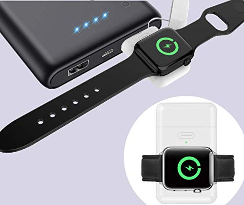 Beseller for Apple Watch Wireless Charger, Portable iWatch Charger Built-in 10