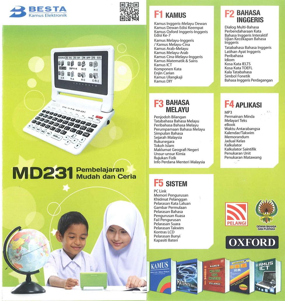 Besta Dictionary MD231