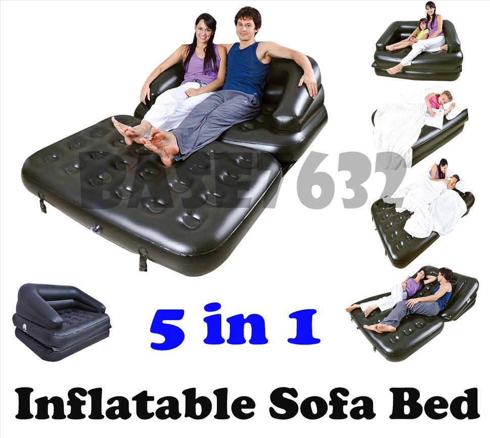 5 in 1 sofa 5 in 1 sofa bed inflatable thesofa for Sofa bed 5 in 1 fastworld drtv