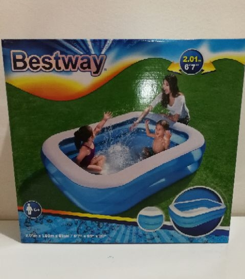 Bestway Family Kids Swimming Pool - Free Electric Pump