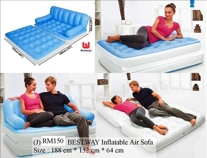 air mattress bed free hand pumpair pillow