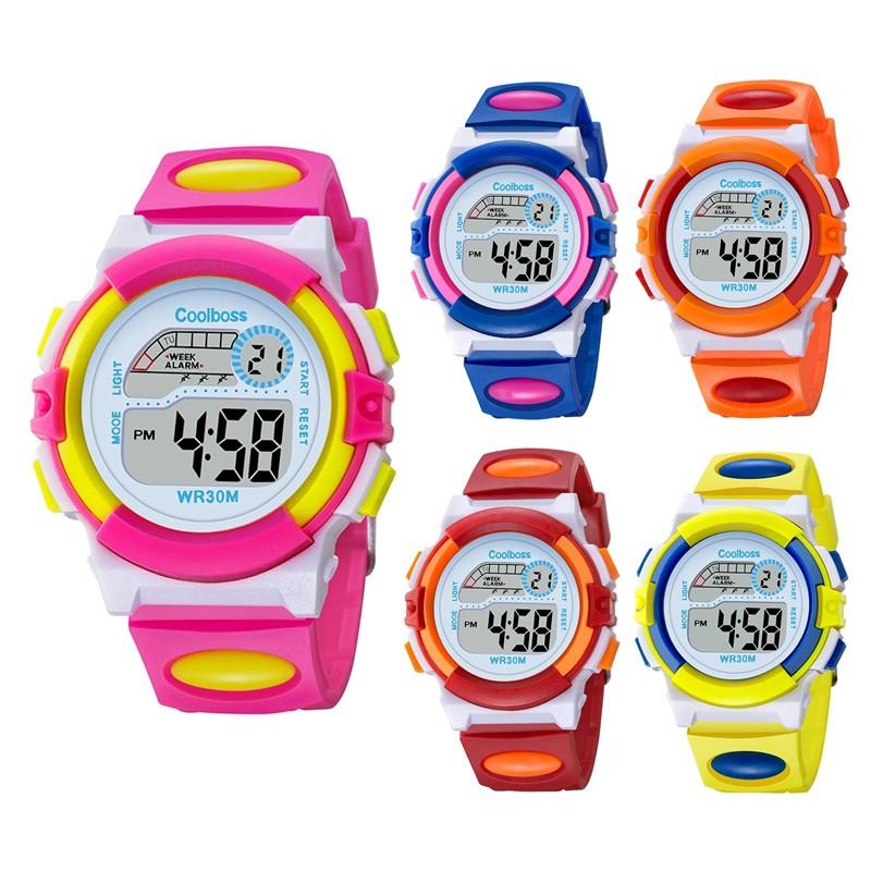 27b50bd76c17 BiColor Kids Children LED Digital Multi Function Rainbow Light Watch. ‹ ›