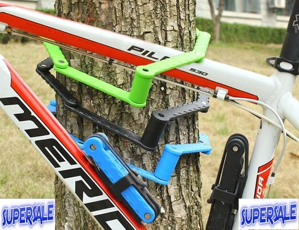 Bicycle Mountain Bike Lock Anti Theft Folding 8 Chain
