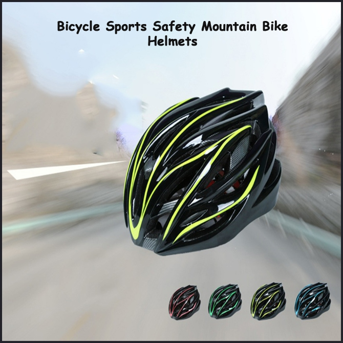Bicycle Sports Safety Mountain Bike Helmets