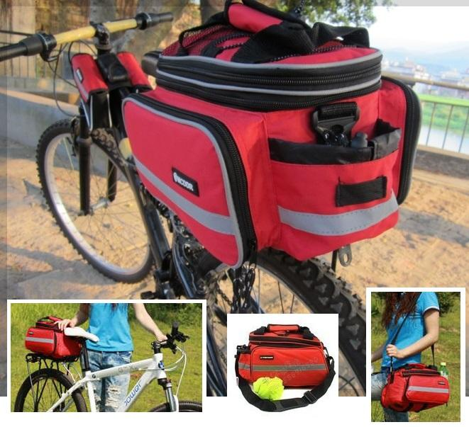 Bicycle Traveling Bag - Small - RED