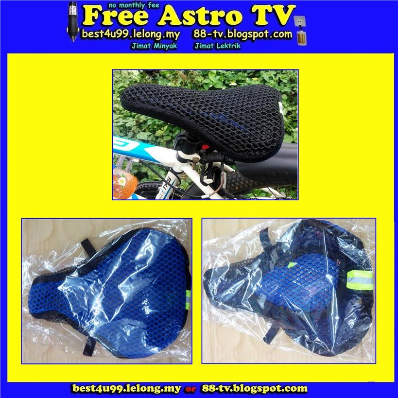 bike bicycle saddle breathable cushion 3D seat cover soft Anti Slip cd