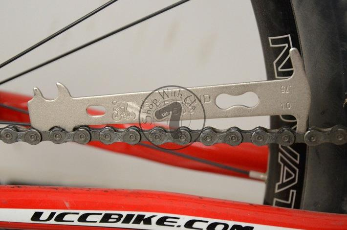 Bike Hand Chain Wear Indicator