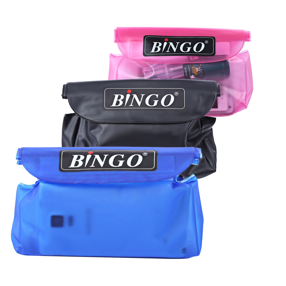 BINGO WP033 PVC 20M WATERPROOF WAIST PACK BAG POUCH WITH STRAP (LIGHT