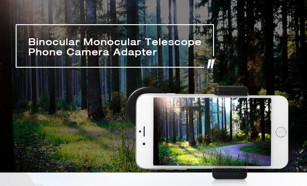 Binocular monocular telescope mobile end pm