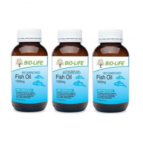 BIO-LIFE FISH OIL 1000MG 100'SX3 (PROTECT HEART)