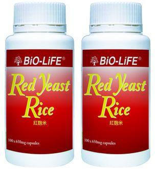 Bio-Life Red Yeast Rice 100X2 (Reduce Cholesterol)