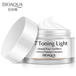 BIOAQUA~ V7 Toning Light Brightening Cream 50g