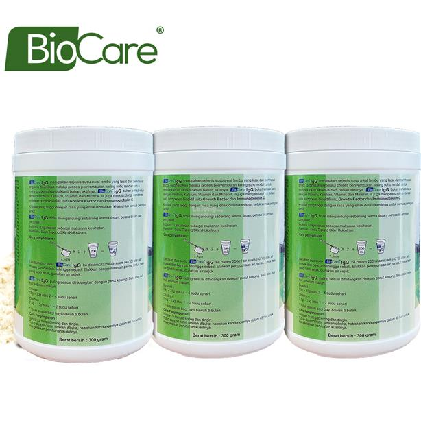 Biocare IgG Colostrum powder 300g x 3
