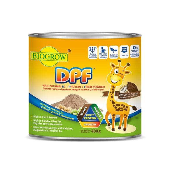 Biogrow DPF 400g, for Kids Growth [Expiry 03/19]