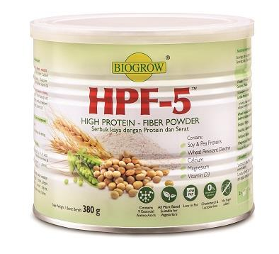 BIOGROW HPF-5 (HIGH PROTIEN - FIBER POWDER) 380g x 2