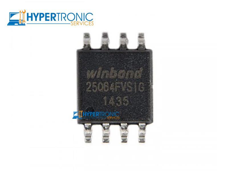 BIOS Chip 8MB 64M-Bit Winbond 25Q64 25Q64FVSIG SPI Flash ROM - Empty