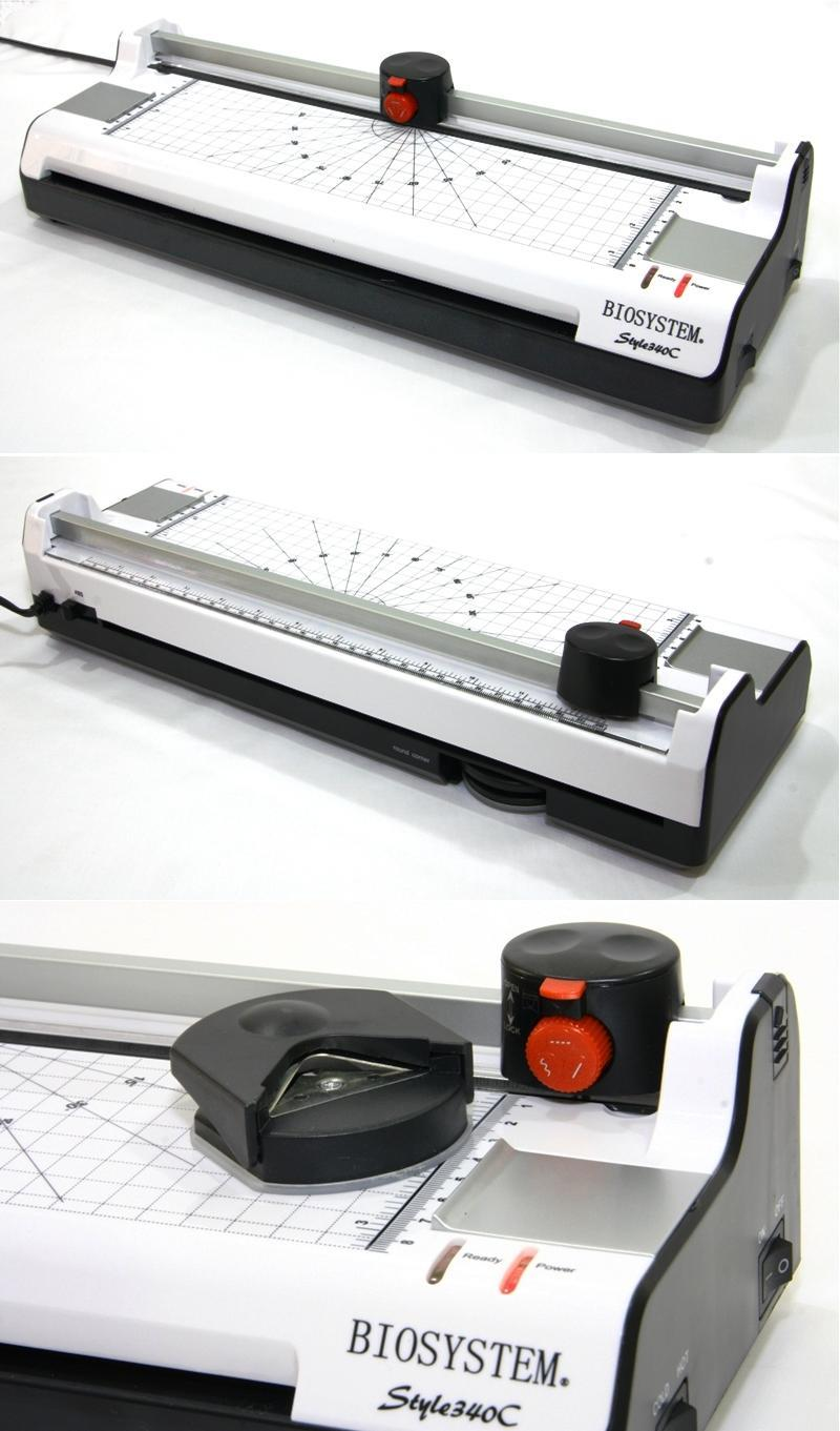 BIOSYSTEM A3 Laminator 3 in 1 Laminating Machine Rotary Cutter