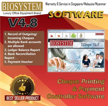 Biosystem Cheque Printing & Payment Controller Software